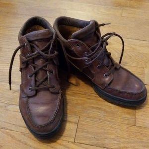 Timberland dark brown GoreTex boots